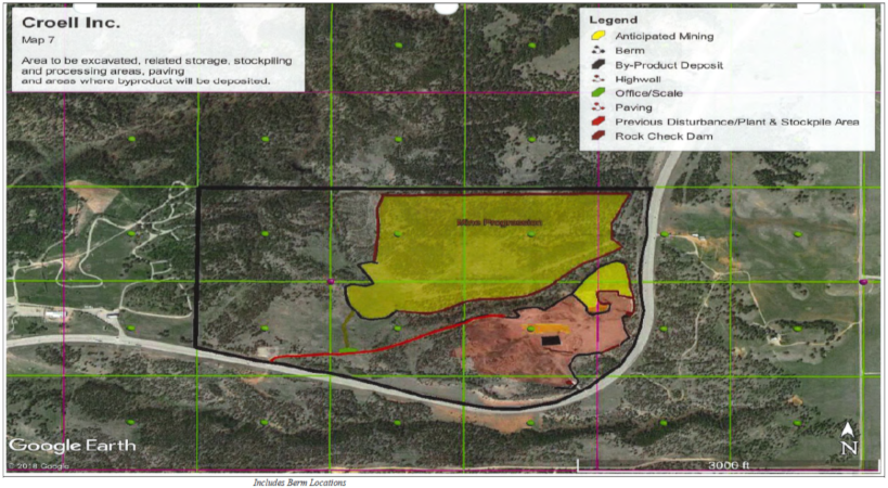 Proposed Expansion from Croell Application